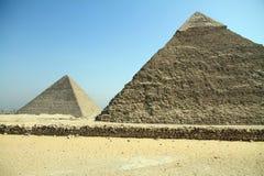 Piramidi del EL Cairo Egitto di Giza Immagine Stock Libera da Diritti