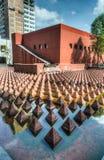 Piramidi della plaza Juarez Immagine Stock
