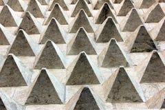 Piramidi di pietra Fotografia Stock Libera da Diritti
