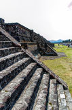 Piramidi di Teotihuacan Fotografie Stock Libere da Diritti
