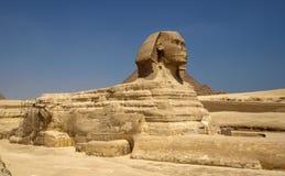 Piramidi e sphinx Fotografia Stock Libera da Diritti