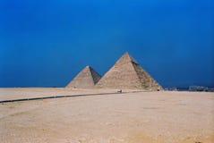 Piramidi Egitto Immagini Stock Libere da Diritti