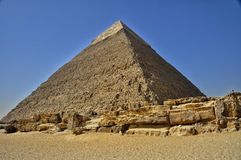 Piramidi egiziane Fotografie Stock Libere da Diritti