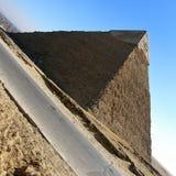 Piramidi egiziane di Giza Fotografia Stock