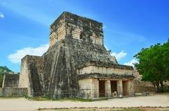 Piramidi maya nel Messico Fotografia Stock