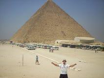 Piramidi nell'Egitto Fotografie Stock Libere da Diritti