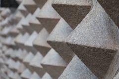 Piramids abstractos Fotos de archivo libres de regalías