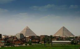 Piramids de Gyza Imagens de Stock Royalty Free