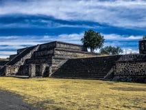 Piramids i Mexiko arkivbilder