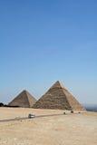 piramidy Zdjęcie Stock