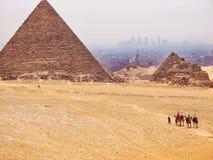 piramidy egipskie Zdjęcie Royalty Free