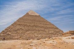 piramidy w gizie Zdjęcia Royalty Free
