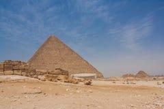 piramidy w gizie Obraz Royalty Free