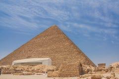 piramidy w gizie Fotografia Stock