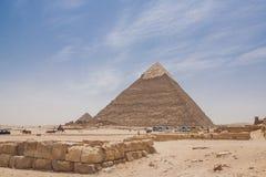 piramidy w gizie Obrazy Stock