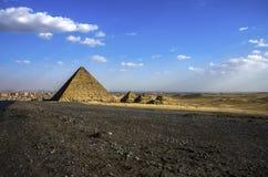 piramidy w gizie cairo Egypt obraz stock