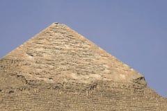 piramidy w gizie Egipt wielcy Ostrosłupy Siódmego cud świat Antyczni megality fotografia stock