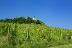 Piramidy wzgórze, Maribor, Slovenia Fotografia Stock