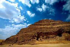 piramidzoser Royaltyfri Foto