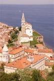 piran Σλοβενία Στοκ φωτογραφία με δικαίωμα ελεύθερης χρήσης
