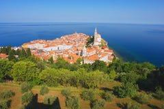 piran Σλοβενία Στοκ εικόνες με δικαίωμα ελεύθερης χρήσης