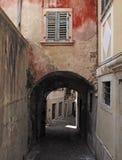 Piran, старый городок в Словении стоковые изображения