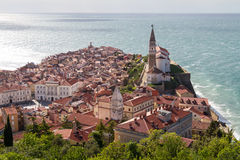 Piran Foto de Stock Royalty Free