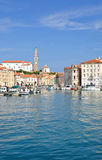 Piran,Adriatic Sea,Slovenia Stock Image