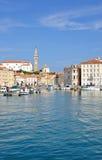 Piran,Adriatic Sea,Slovenia Stock Image