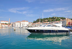 Piran,Adriatic Sea,Slovenia Royalty Free Stock Image