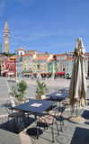 Piran,Adriatic Sea,Slovenia Stock Photography