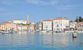 Piran,Adriatic Sea,Slovenia Stock Photography