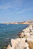 Piran,Adriatic Sea,Slovenia Royalty Free Stock Images