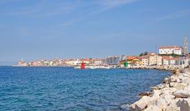 Piran,Adriatic Sea,Slovenia Royalty Free Stock Photography