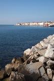 Piran beautiful town in Slovenia Stock Images