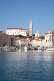 Piran beautiful town in Slovenia Royalty Free Stock Photography