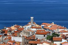 Piran is a city in Slovenia, on the Istrian peninsula. Piran is a city in Slovenia, on the peninsula of Istria, on the Adriatic coast royalty free stock image