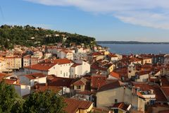 Piran is a city in Slovenia, on the Istrian peninsula. Piran is a city in Slovenia, on the peninsula of Istria, on the Adriatic coast royalty free stock photography