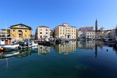 Piran is a city in Slovenia, on the Istrian peninsula. Piran is a city in Slovenia, on the peninsula of Istria, on the Adriatic coast stock photos