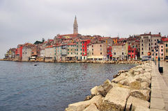 Piran cityscape Stock Photos