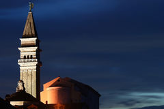 Piran at dusk Royalty Free Stock Photography