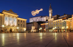 Piran - la Slovénie photos stock