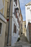 Piran Old Town in Slovenia Stock Photo