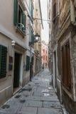 Piran Old Town in Slovenia Stock Photos