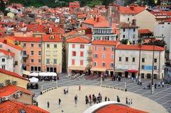 Piran old town, Slovenia Stock Image