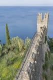 Piran Old Town walls, Slovenia. Royalty Free Stock Photos