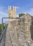 Piran Old Town walls, Slovenia. Stock Photos