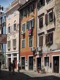 Piran, oude stad in Slovenië royalty-vrije stock afbeeldingen