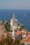Piran (Pirano), Eslovenia Fotografía de archivo