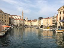 Piran Pirano Royalty Free Stock Photos